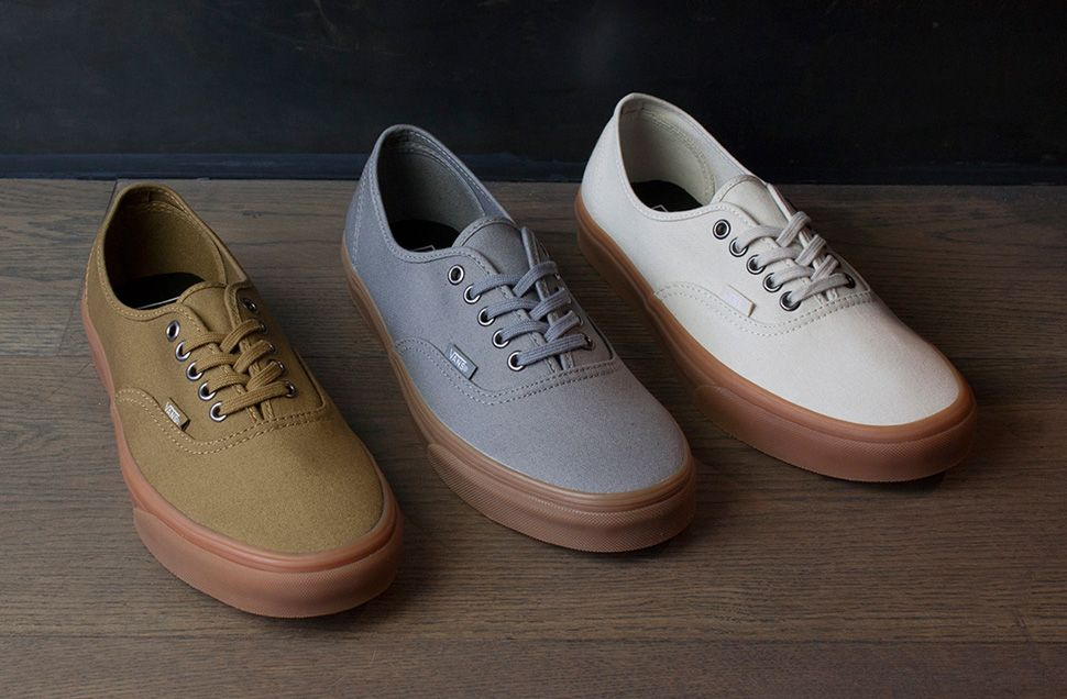 vans era grey gum sole