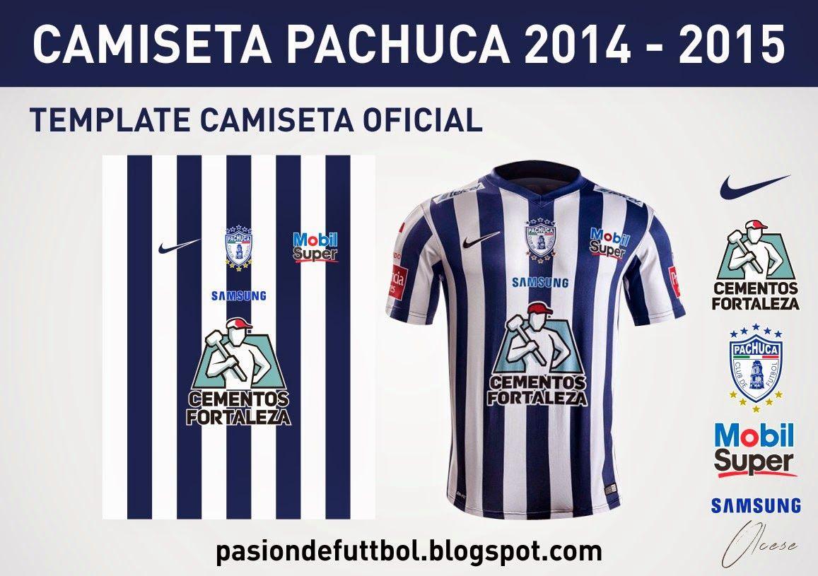 Diseños, Vectores y Templates para Camisetas de Futbol: PACHUCA 2014 ...