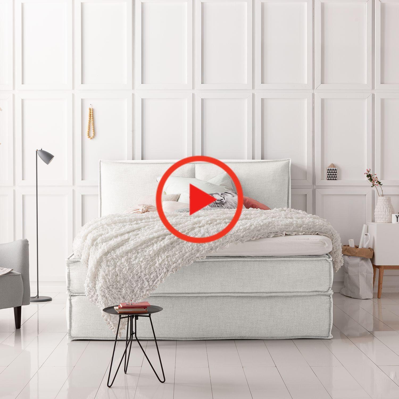 Boxspringbettはに相談します In 2020 Home Decor Home New Homes