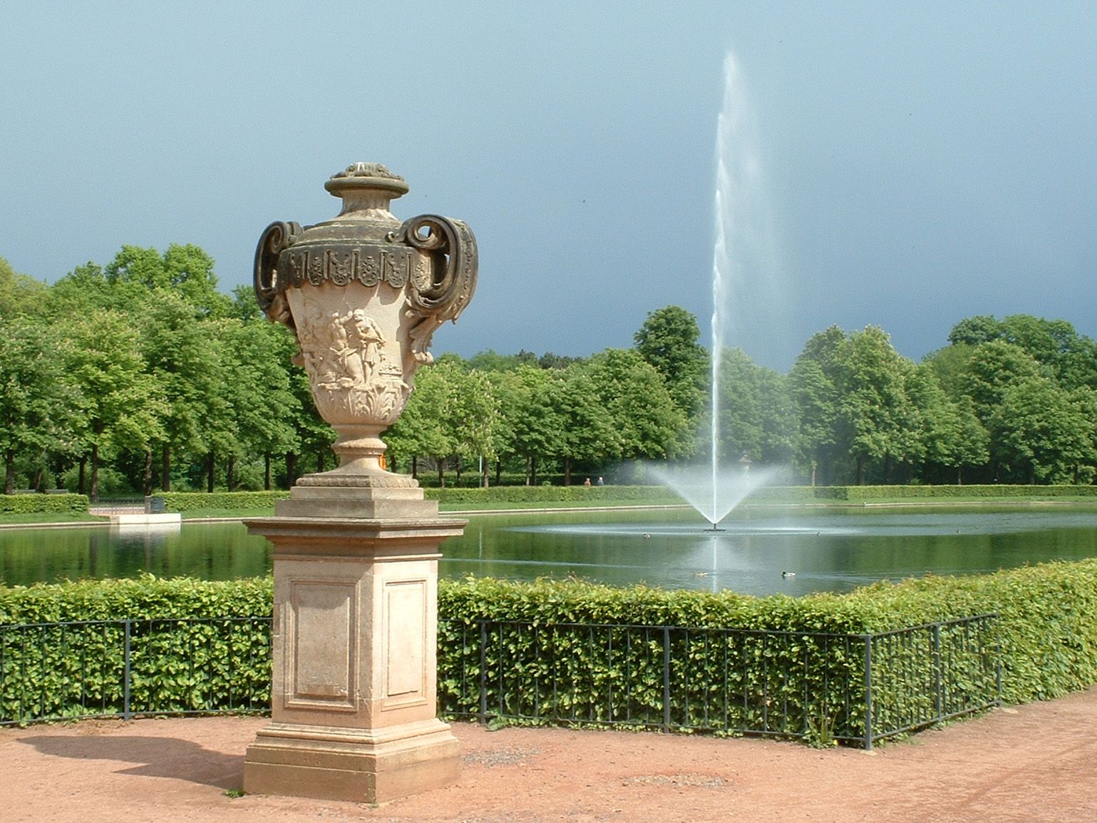 dresden -Der Große Garten.