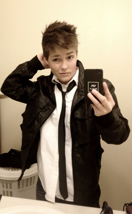 White Shirt Leather Jacket Traditional Black Tie Swag Want