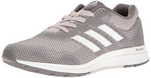 adidas Performance Women's Mana Bounce 2 W Aramis Running Shoe, Ice  Purple/White/Trace Grey, 10 M US