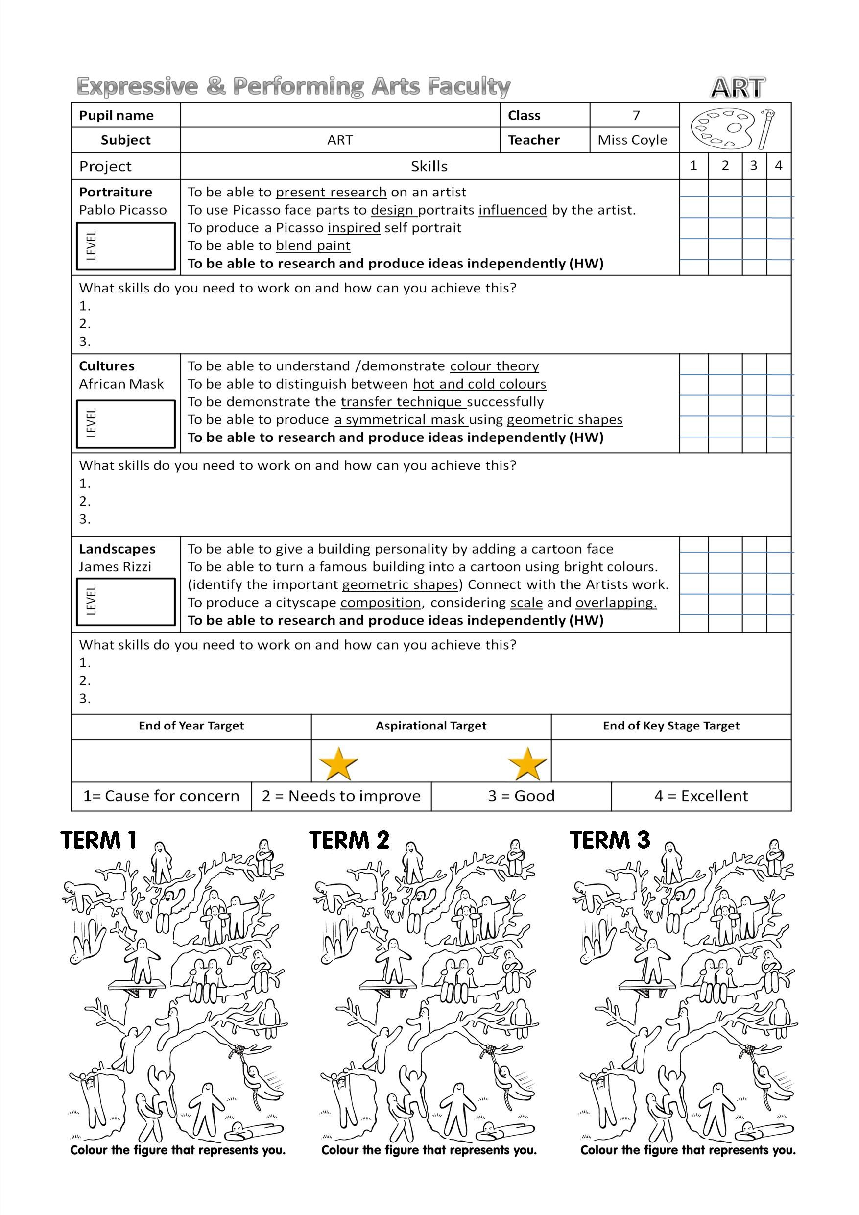 Pin By Miss Coyle On 1 Art Resources And Worksheets With