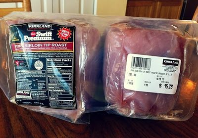 Tuscan Pork Roast recipe using Costco pork sirloin tip