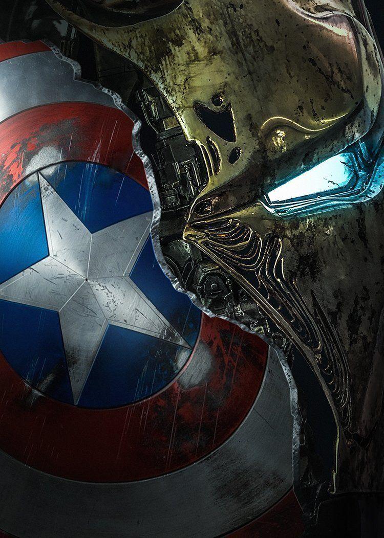 DC Marvel Spider-Man Superman Shield Batman Mask Iron Man Captain America  Tanos