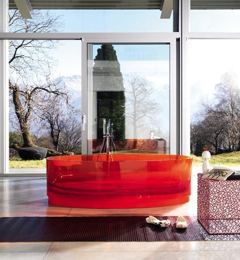 Interi0r Design Net Diseno De Banos Modernos Bano De Cristal Banera