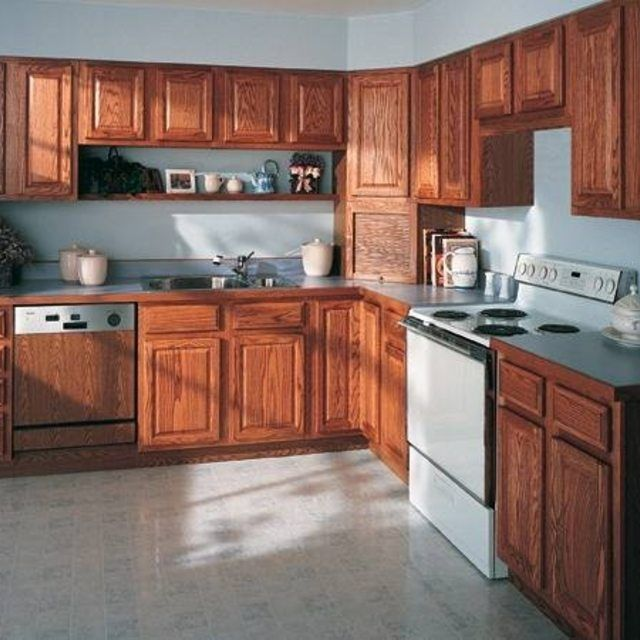 How to Clean Kitchen Cabinets With Vinegar | Clean kitchen ...