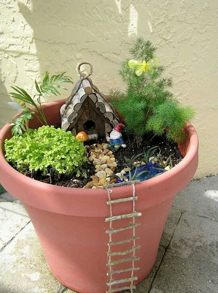 44 Simple Diy Fairy Garden Design Ideas Fairy Garden Diy Fairy Garden Designs Indoor Fairy Gardens