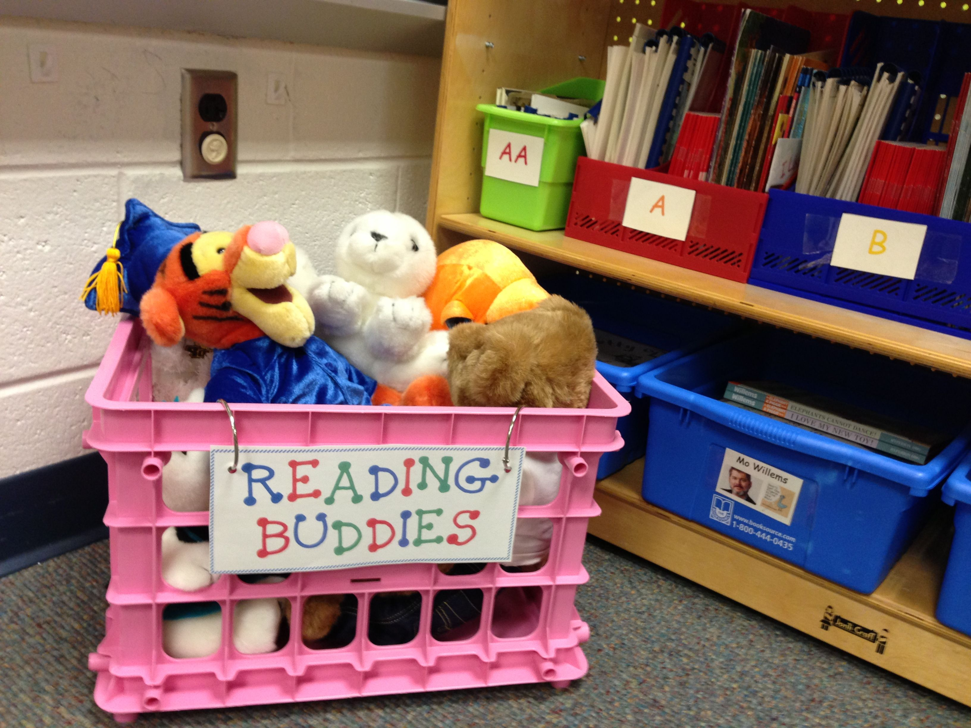 Stuffed Animals In The Classroom Library To Motivate Quiet Independent