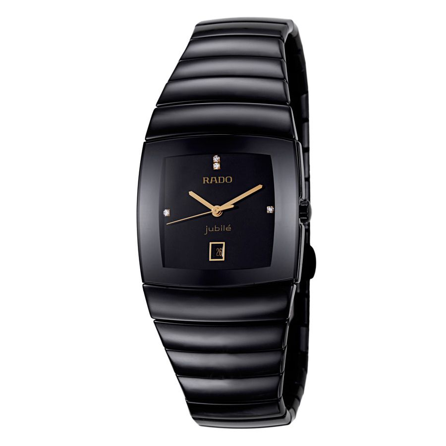 Rado Sintra Jubile Black Quartz Lady S Watch World Of Luxury In 2020 Luxury Watches For Men Watches For Men Black Quartz