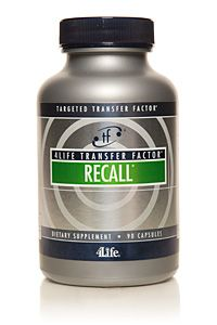 4Life Transfer Factor® ReCall® Targeted brain support for optimal mental functioning, 4Life #ransfer_Factor® ReCall® is now in a bigger bottle with an improved formula. #ReCall® now contains #Tri-Factor® Formula, 4Life's most advanced Transfer Factor formula. Additionally, the updated formula contains an improved form of #Magnesium that is absorbed by the body better. And #Bacopa extract is in a more potent form. Magnesium and Bacopa both support #brain_health.