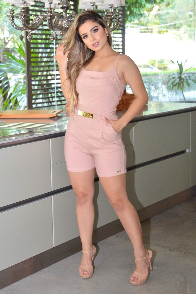 1138c606e Macaquinho Ref.: M853 - Destake Moda Feminina Atacado | moda | Moda ...
