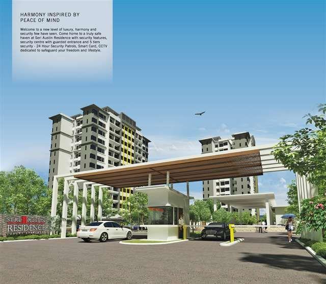 Gatehouse Apartments: Seri Austin Residence Luxury Apartment