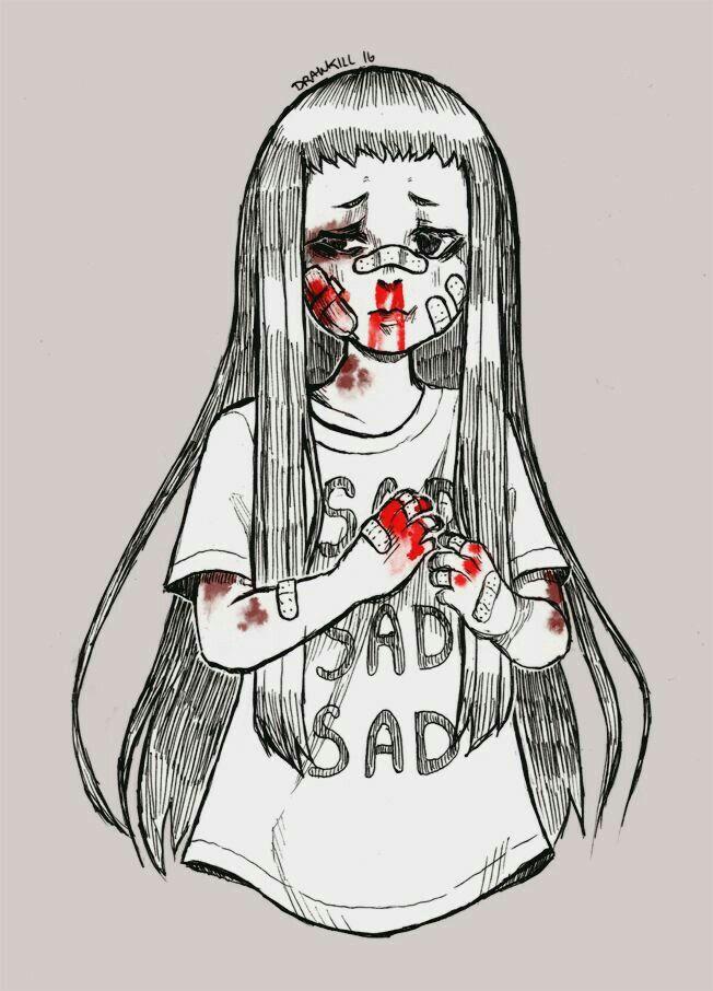 Pin de Ave satanas en arts | Pinterest | Oscuro, Dibujo y Depresión
