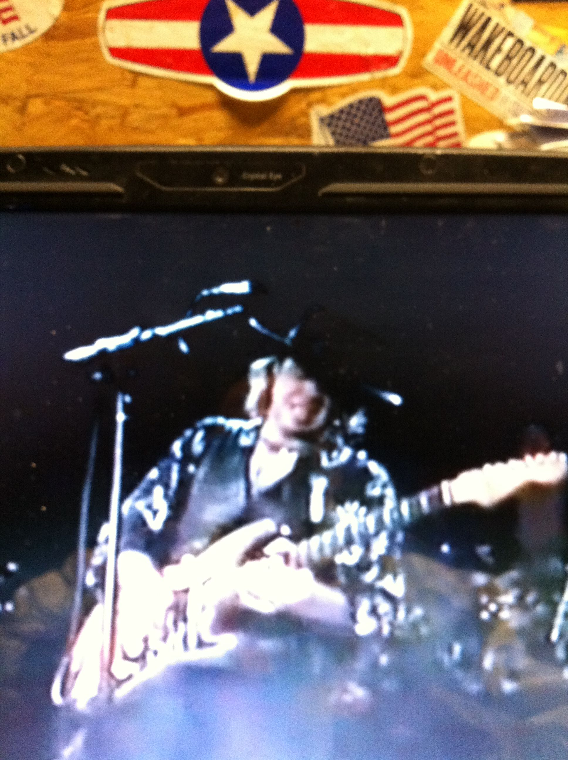 My all time GOD on guitar! SRV R.I.P