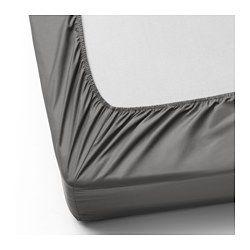 drap housse lyocell ULLVIDE Drap housse, gris   gris   90x200 cm   IKEA | IKEA  drap housse lyocell