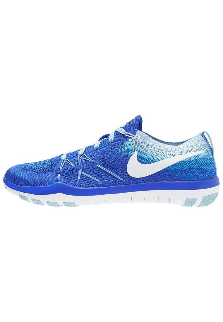 timeless design 2626a 2a674 Nike Performance FREE TR FOCUS FLYKNIT Zapatillas fitness e indoor racer  blue white bluecap. Nike Performance FREE TR FOCUS FLYKNIT Zapatillas  fitness e ...