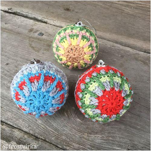Ravelry Christmas Bauble Pattern By Ellinor Widen Crochet