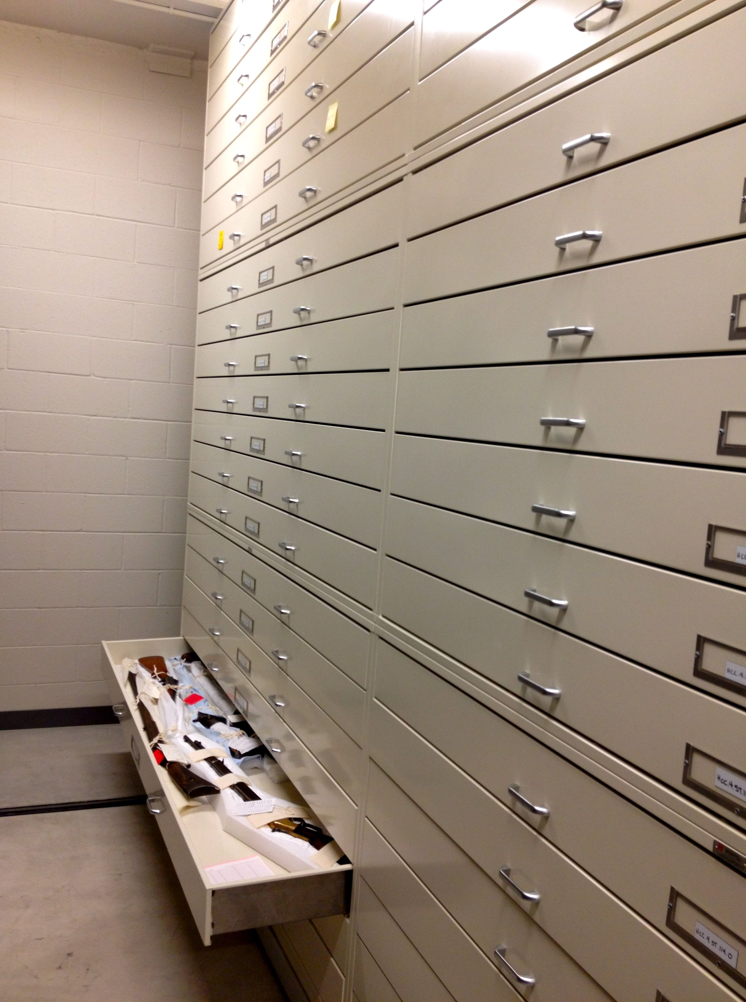 History Colorado Gun Storage in 40,000 sq ft