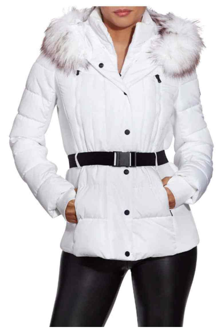 Michael Kors Belted White Puffer Jacket Today S Fashion Item White Puffer Jacket Puffer Jackets Jackets [ 1151 x 765 Pixel ]