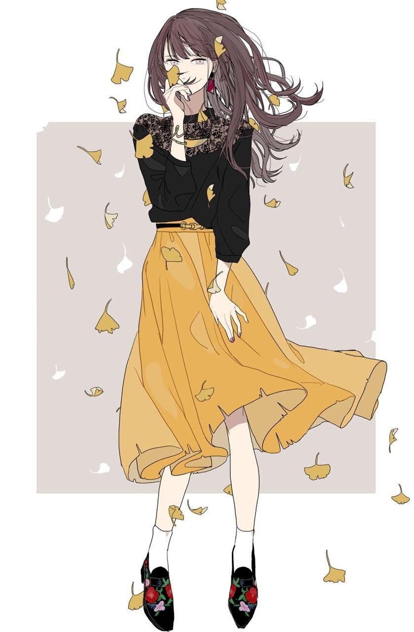 Autumn 0917 Art アニメイラスト キャラクターアート かわいい