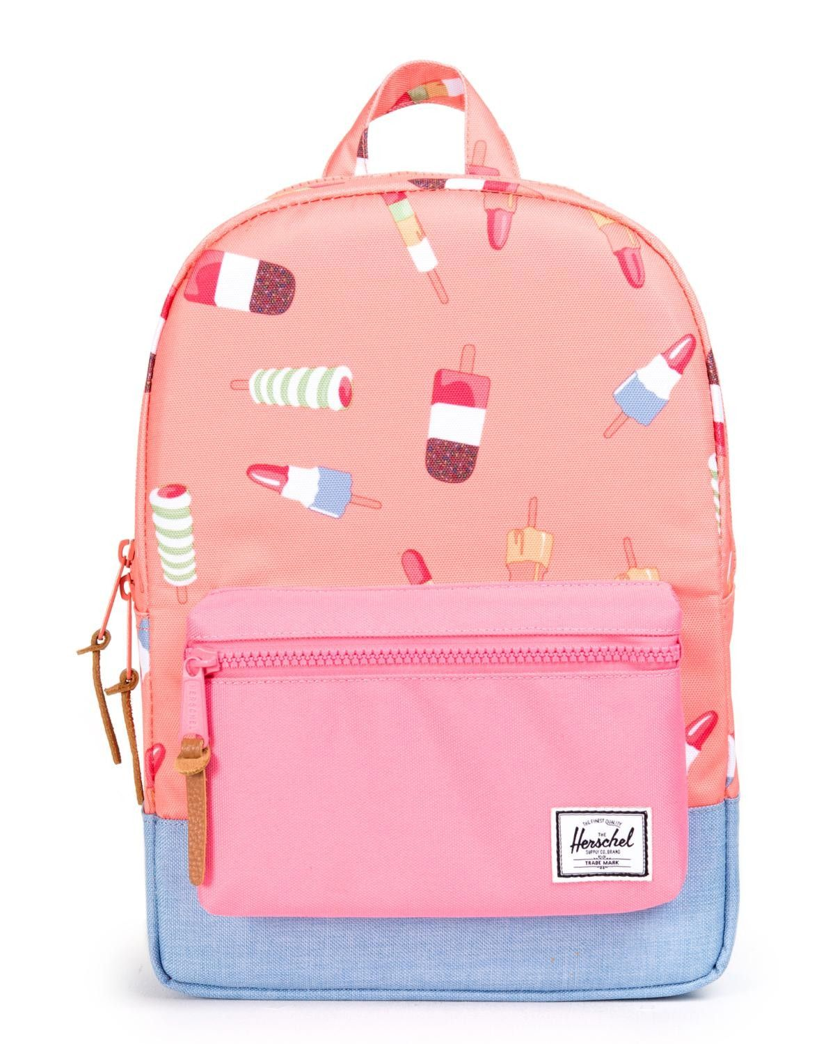 This pop pink backpack by Herschel Supply Co. is durable, functional +  stylish — A schoolyard triple threat. 4a6a7b4d0d