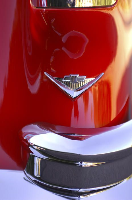 1955 Chevrolet Belair Nomad Emblem 1955 Chevrolet Car Emblem
