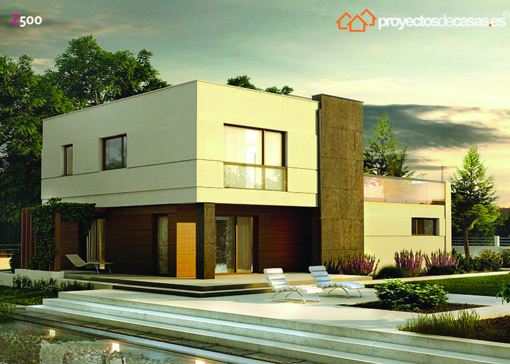 Ficha y planos de casa arganda estilo contempor neo for Casas decoradas estilo contemporaneo