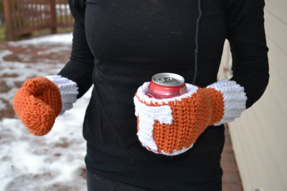 Koozie Mitten Pattern By Craftycrochetmomma On Etsy 450