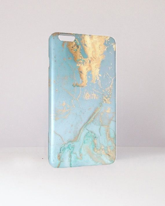 Sea Blue Marble Phone Case Sea Marble by MacBookCasesandCo on Etsy