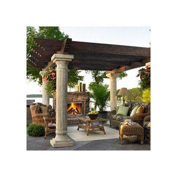 You'll love the Tuscany 7' H x 2' W x 2' D Pergola Pillar