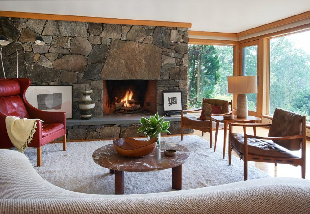 chic chalet interiors the study also west living room house rh pinterest