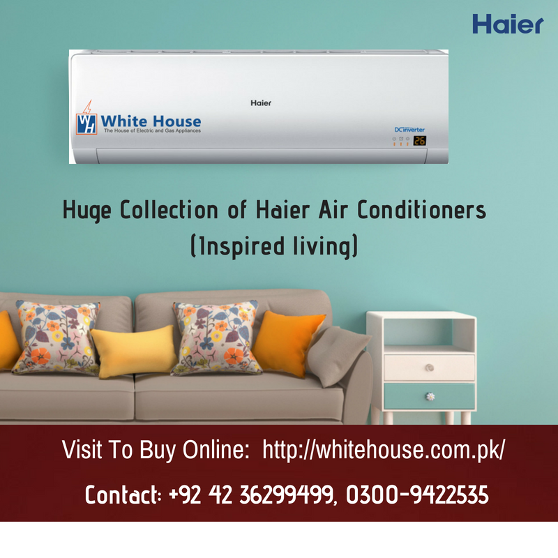 Buy Haier air conditioners online at White House. Visit to