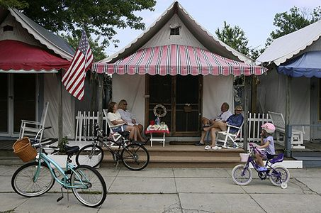 Ocean Grove - not a typical Jersey Shore beach town & Ocean Grove - not a typical Jersey Shore beach town | Tent living ...