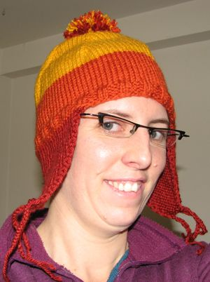 ca4a49c8714 Jayne Cobb hat pattern for worsted weight yarn.