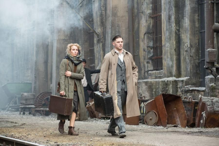 Tom Hardy and Noomi Rapace - #Child44