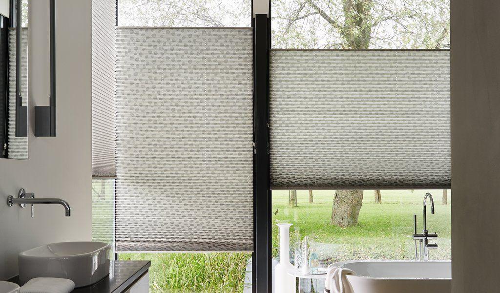 Plisse Gordijn Luxaflex : Luxaflex plissé shades projects to try bathroom