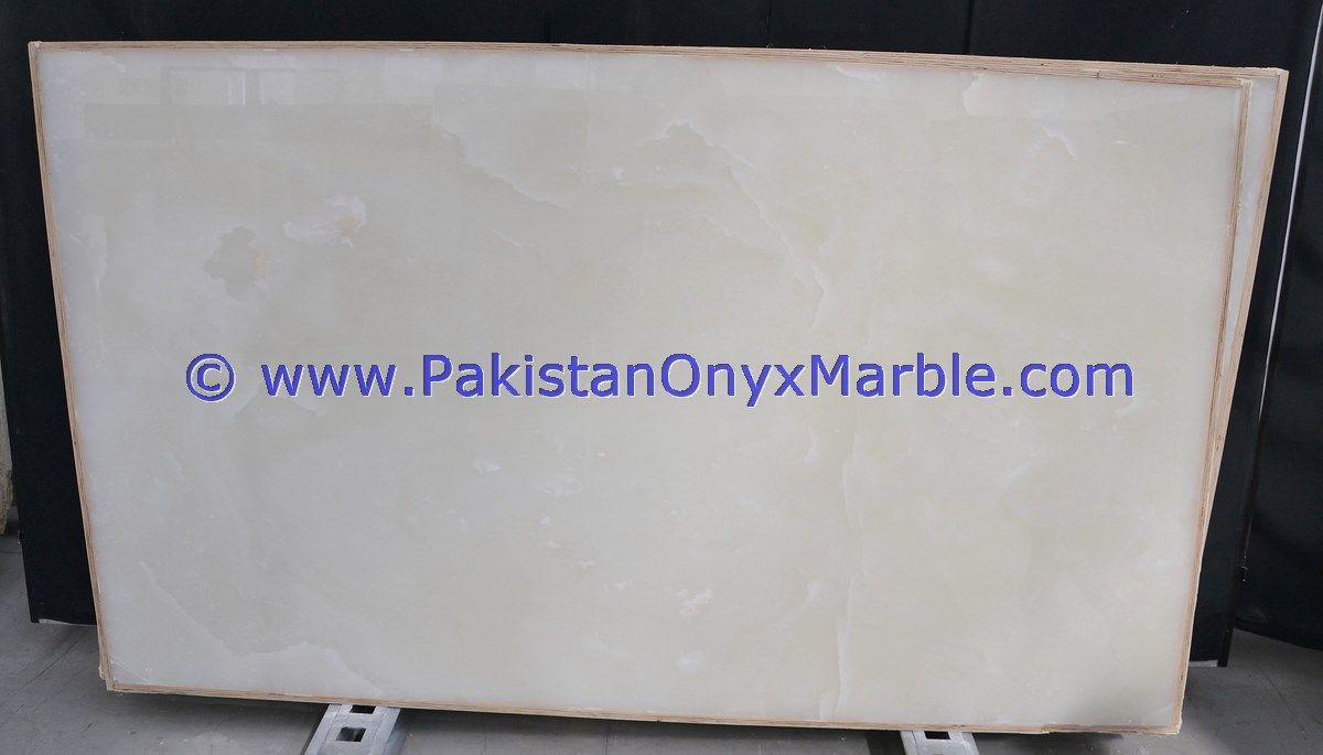 Afghan White Onyx Slabs Pure White Onyx Slabs Afghanistan Snow