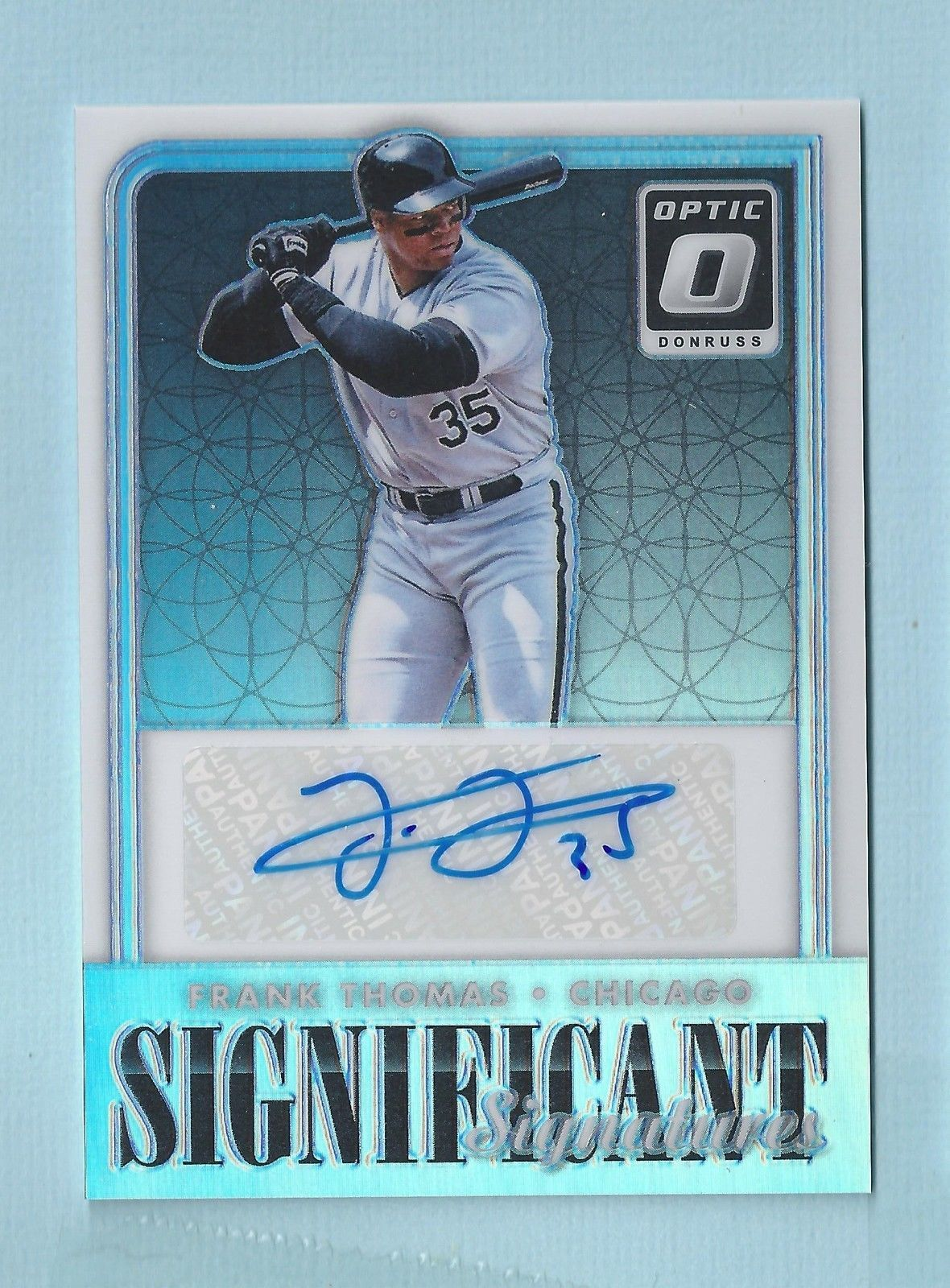 Details about frank thomas 2016 donruss optic significant