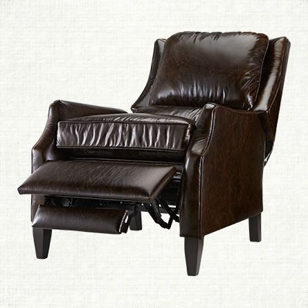 Alex Leather Vintage Recliner $2099