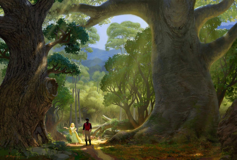 fantasy paysage Google keresés Art conceptuel disney