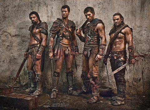 Crixus Agron Spartacus Gannicus Spartacus War Of The Damned