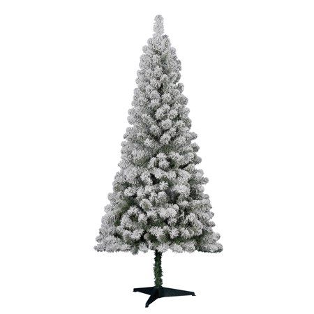 Free 2-day shipping Buy Holiday Time 6\u0027 Flocked Greenwood Pine