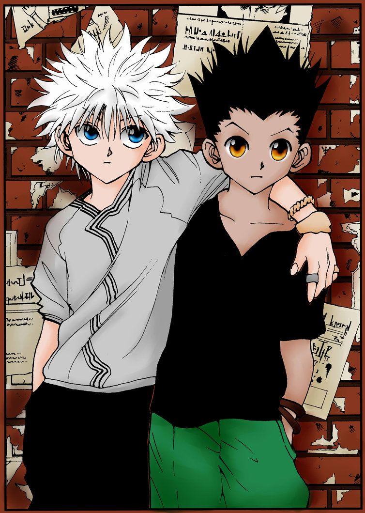 This subreddit is dedicated to the japanese manga and anime series hunter x hunter, written by … Gon and Killua by Saiyuri-Taiyou | Killua, Hunter x hunter ...