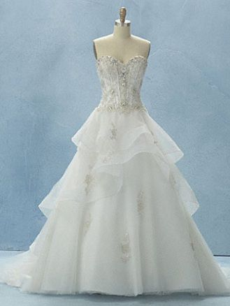 Alfred Angelo Disney Princess Belle Wedding Dress. I will have this ...