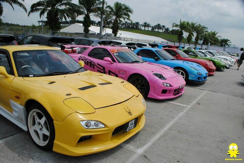 Mazda RX7 choose your color. Mazda rx7, Street cars, Mazda