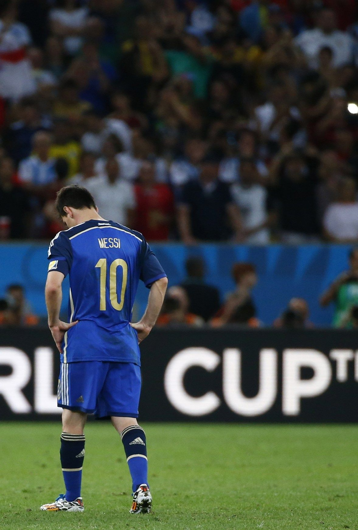 World Cup Final Argentina Vs Germany July 13 2014 Wc2014 Worldcup Worldcup2014 Messi Lionel Messi Lionel Messi Barcelona Messi