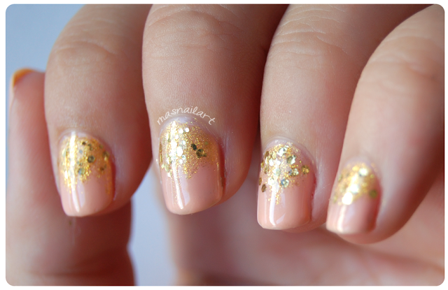 Más nail art.: NOTD: party wedding nails