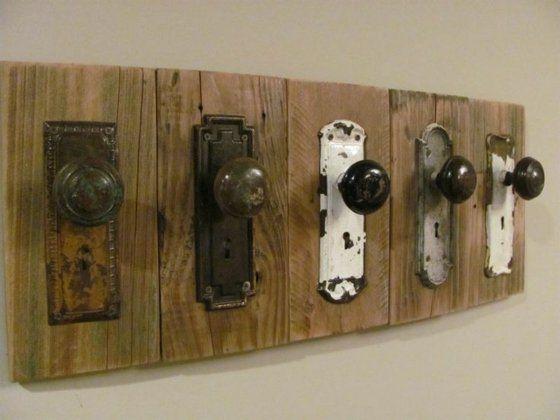 Porte manteau mural DIY en 18 exemples vintage Diy wood, Nest and - tour a bois fait maison