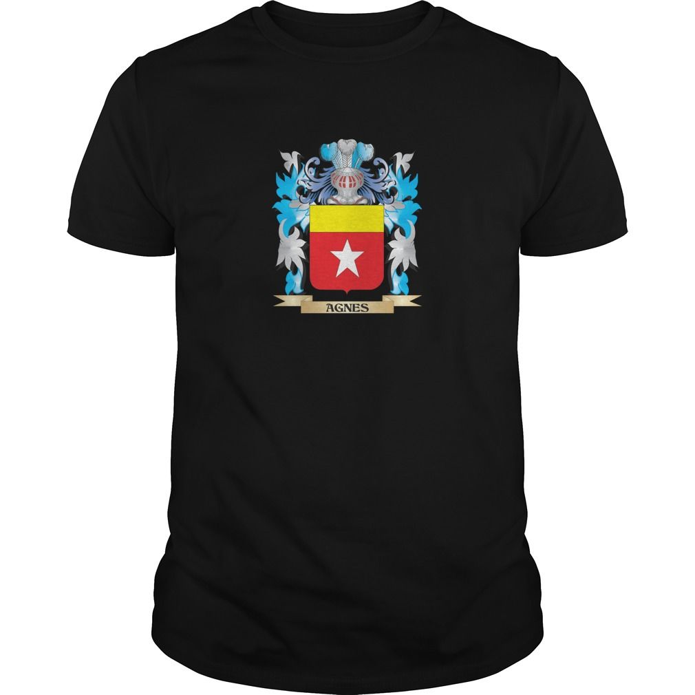 Agnes Coat Of Arms - Know someone who loves Agnes? Then this is the perfect gift for that person. Thank you for visiting my page. Please share with others who would enjoy this shirt. (Related terms: Agnes,Agnes coat of arms,Coat or Arms,Family Crest,Tartan,Agnes surname,Her...)